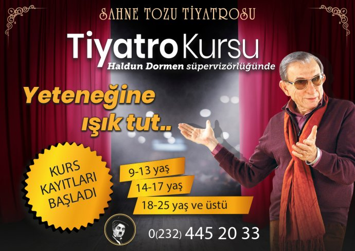 Sahnetozu.com Genel | İzmir'de Tiyatro Kursu