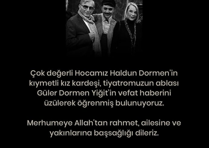 Sahnetozu.com Video | Güler Dormen Yiğit'i kaybetmenin üzüntüsü içerisindeyiz...